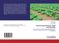 Bookcover of Improving Tobacco Yield and Quality