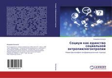 Bookcover of Социум как единство социальной энтропии/негэнтропии
