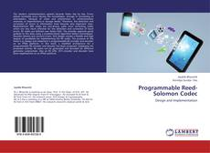 Bookcover of Programmable Reed-Solomon Codec