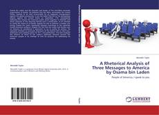Copertina di A Rhetorical Analysis of Three Messages to America by Osama bin Laden