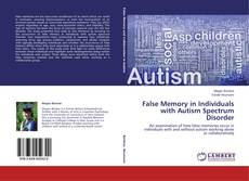 Capa do livro de False Memory in Individuals with Autism Spectrum Disorder
