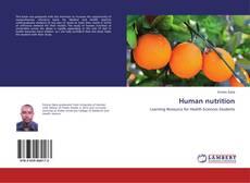 Copertina di Human nutrition