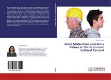 Work Motivation and Work Values in the Romanian Cultural Context的封面