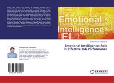 Bookcover of Emotional Intelligence: Role in Effective Job Performance