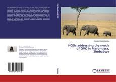 Bookcover of NGOs addressing the needs of OVC in Marondera, Zimbabwe