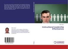 Copertina di Instructional Leadership Effectiveness