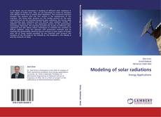Bookcover of Modeling of solar radiations