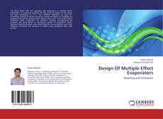 Copertina di Design Of Multiple Effect Evaporators