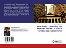 Bookcover of Investment Expenditure and Economic Growth in Nigeria