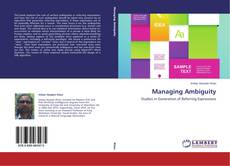 Обложка Managing Ambiguity