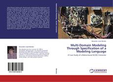 Обложка Multi-Domain Modeling Through Specification of a Modeling Language