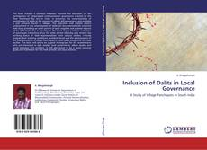 Bookcover of Inclusion of Dalits in Local Governance