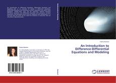 Capa do livro de An Introduction to Difference-Differential Equations and Modeling