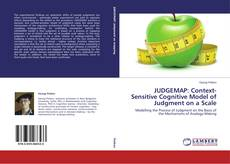 Bookcover of JUDGEMAP: Context-Sensitive Cognitive Model of Judgment on a Scale