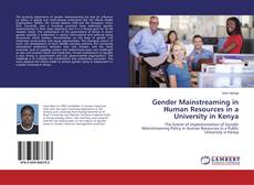 Capa do livro de Gender Mainstreaming in Human Resources in a University in Kenya