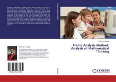 Frame Analysis Method: Analysis of Mathematical Thinking的封面