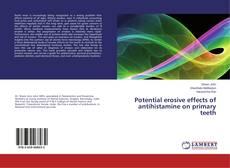 Обложка Potential erosive effects of antihistamine on primary teeth