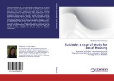 Sulukule: a case of study for Social Housing kitap kapağı
