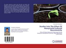 Bookcover of Studies Into The Effect Of Heavymetal-induced Neurotoxicity