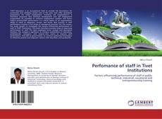 Borítókép a  Perfomance of staff in Tivet Institutions - hoz