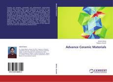 Couverture de Advance Ceramic Materials