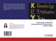 Portada del libro de Evaluation of Women Empowerment Programme : A Case Study
