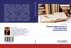 Buchcover von Правотворчество в Республике Таджикистан
