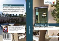 Bookcover of Ingenious Club