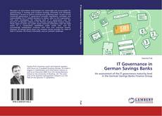 Buchcover von IT Governance in German Savings Banks
