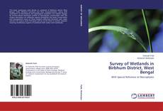 Bookcover of Survey of Wetlands in Birbhum District, West Bengal