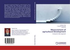 Bookcover of Measurement of agricultural Development
