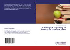 Bookcover of Technological Capability of Small-Scale Furniture Firms
