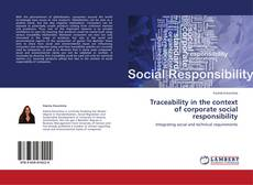 Bookcover of Traceability in the context of corporate social responsibility