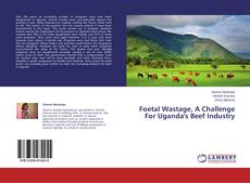 Bookcover of Foetal Wastage, A Challenge For Uganda's Beef Industry