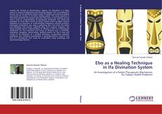 Buchcover von Ebo as a Healing Technique in Ifa Divination System