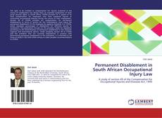 Bookcover of Permanent Disablement in South African Occupational Injury Law