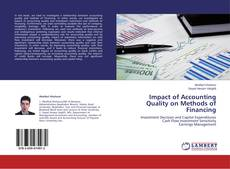 Bookcover of Impact of Accounting Quality on Methods of Financing