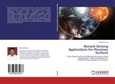 Обложка Remote Sensing Applications for Planetary Surfaces