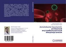 Bookcover of Acinetobacter baumannii: успешный внутрибольничный микроорганизм
