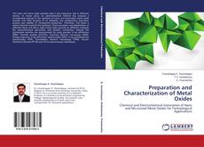 Bookcover of Preparation and Characterization of Metal Oxides