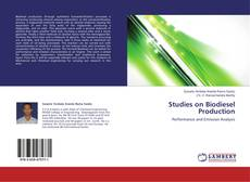 Bookcover of Studies on Biodiesel Production