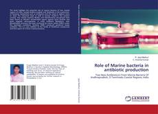 Buchcover von Role of Marine bacteria in antibiotic production