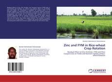 Zinc and FYM in Rice-wheat Crop Rotation kitap kapağı
