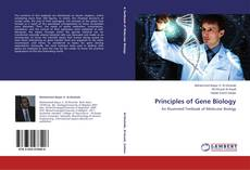 Capa do livro de Principles of Gene Biology