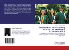 Copertina di Best Practices to Succeeding in TESOL: an Experience from West Africa