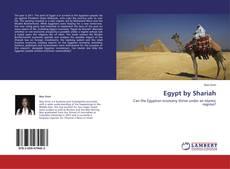Buchcover von Egypt by Shariah