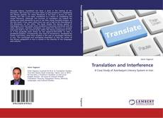 Copertina di Translation and Interference
