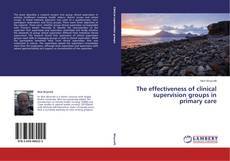 Capa do livro de The effectiveness of clinical supervision groups in primary care