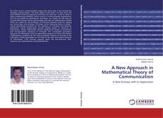 Capa do livro de A New Approach in Mathematical Theory of Communication