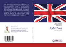 Bookcover of English Topics‎